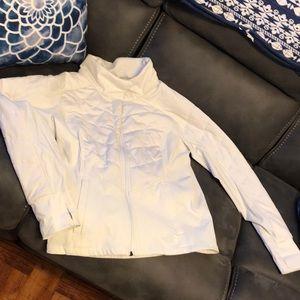 Northface women's sports zip up Jacket